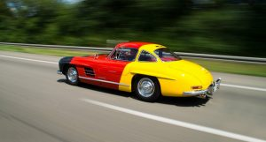1954 Mercedes-Benz 300 SL in German Flag Colours