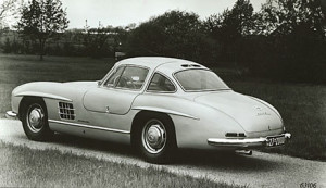 1954 300SL Prototype  By Scott Grundfor
