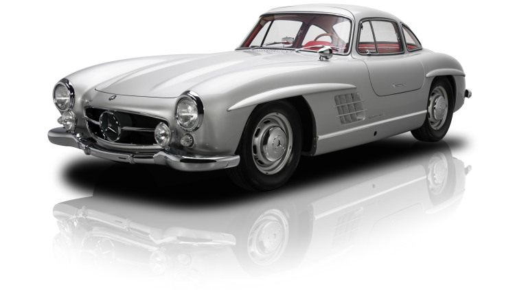 1954 300SL Gullwing with Canadian Roots