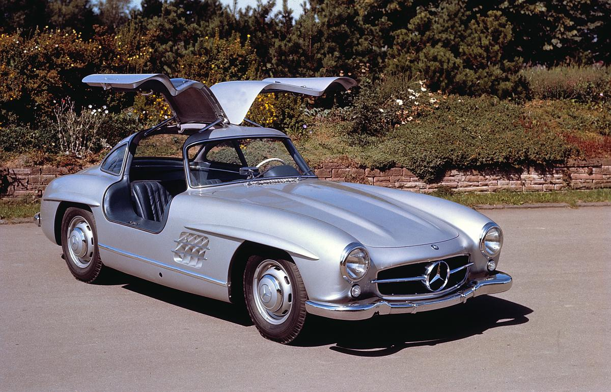 "With its groundbreaking and endlessly-cool ""gullwing"" doors, the 300 SL is likely the most iconic Mercedes ever made."