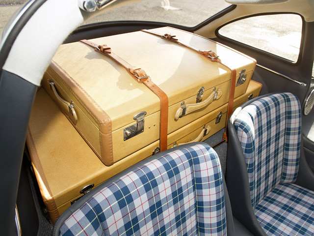 1955 Alloy 300SL Gullwing Luggage