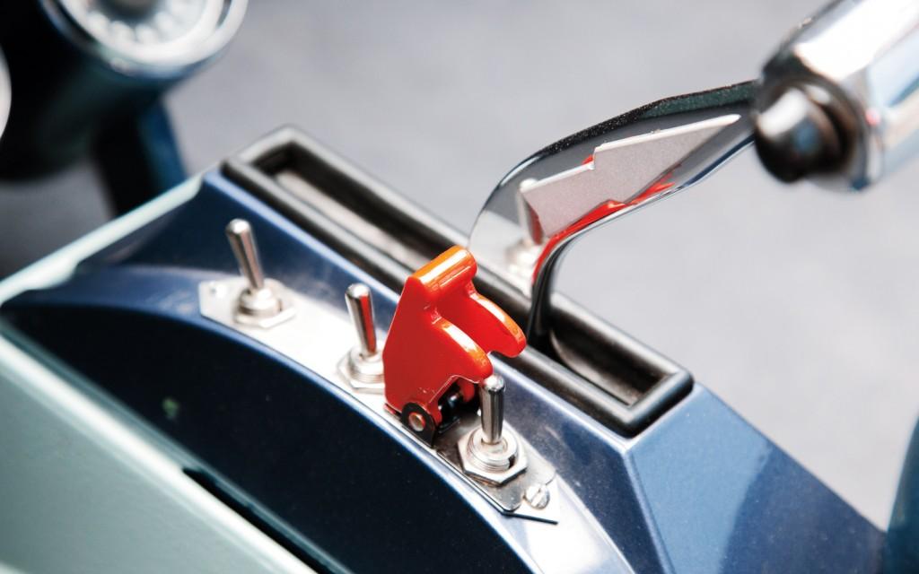 1955 Ghia Gilda Switches