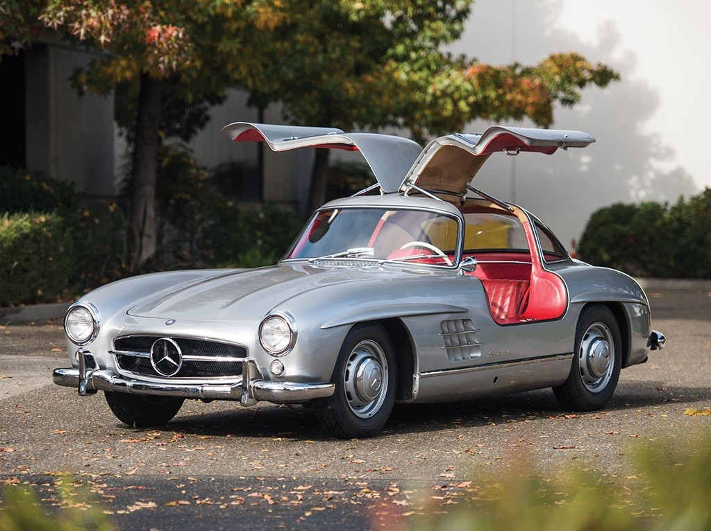 Mercedes benz 300 sl gullwing will make someone empty his for Mercedes benz gullwing 1955