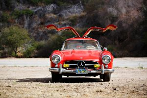Family Owned 1955 Mercedes-Benz 300SL Tops Expectations at Scottsdale 2017