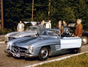 1955 300SLS Prototype Roadster: A Timeline