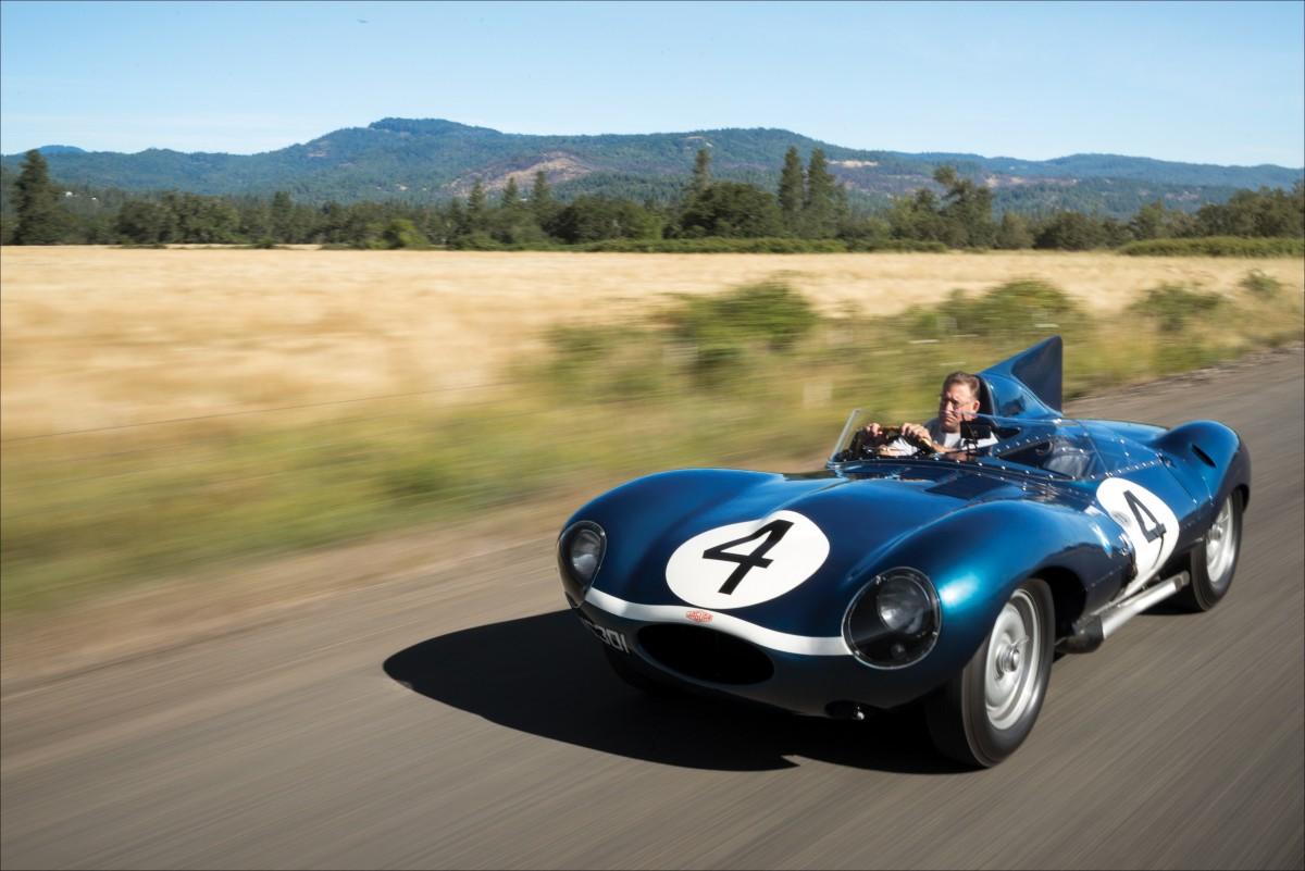 le mans winning 1956 jaguar d type should set new record for british cars at monterey auctions. Black Bedroom Furniture Sets. Home Design Ideas