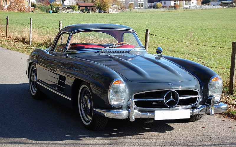 Sold 1958 mercedes benz 300 sl roadster scott grundfor for Mercedes benz classic cars