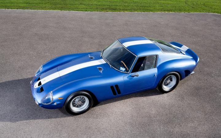 The 1962 Ferrari 250 GTO is one of the world's most sought after classic cars CREDIT: TALACREST / SWNS