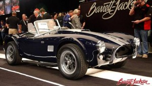 Scottsdale Car Auction Posts First Decline Since 2010