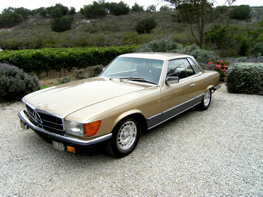 SOLD: 1981 Mercedes-Benz 500SLC (Homologation Coupe) - Scott ...