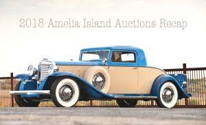 Amelia Island Auctions 2018 – Recap