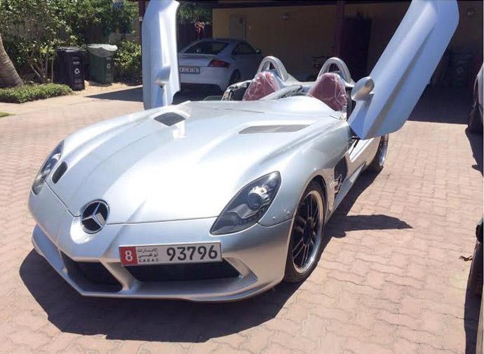 2009 Mercedes-Benz SLR McLaren 'Stirling Moss'