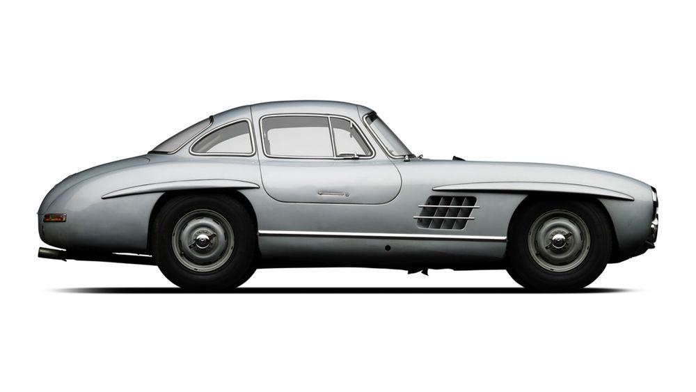 Silver 300 SL Gullwing