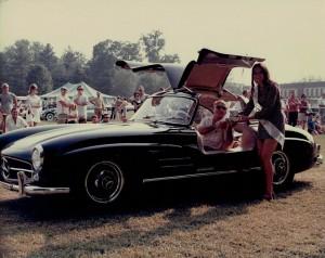 Black Gullwing 300SL