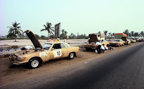 500SLC Rally cars