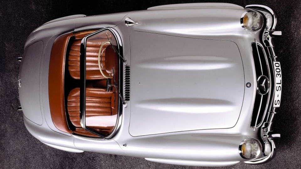 Mercedes-Benz 300 SL Roadster (W 198 II series) built from 1957 to 1963. (Daimler AG)