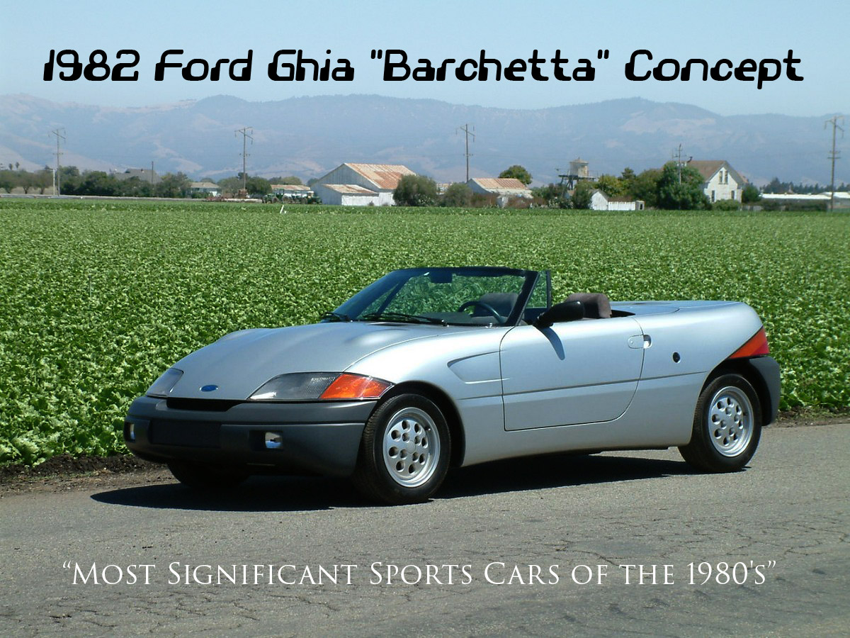 Ford Barchetta Concept Vehicle