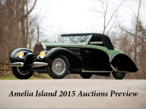 Amelia Island 2015 Auctions Preview