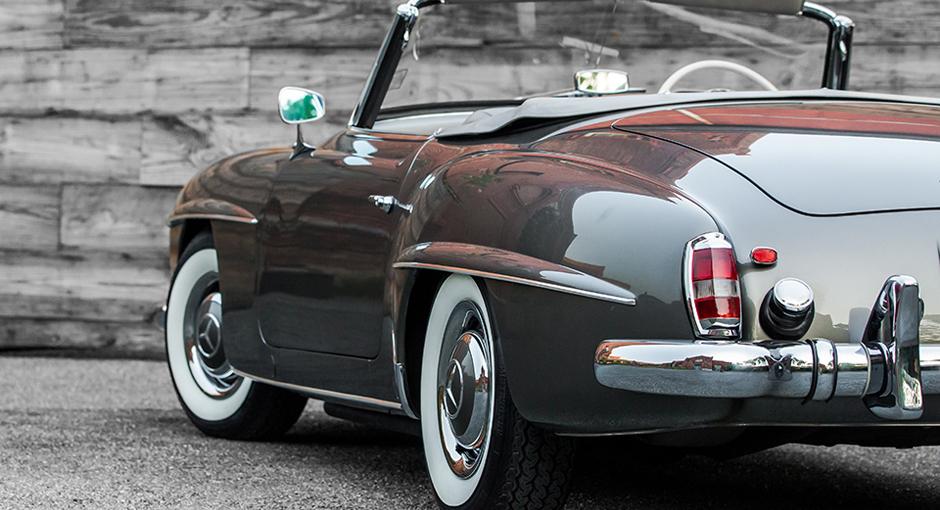 The classic mercedes benz 190sl scott grundfor company for Mercedes benz classic car center