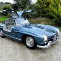 1955 Mercedes-Benz 300SL Gullwing in DB 396 Blue Metallic