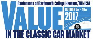 Value in the Classic Car Market – October 9th & 10th hosted by Historic Automobile Group