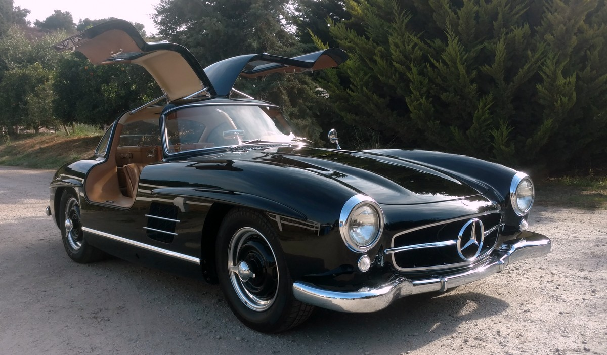 Sold 1954 mercedes benz 300sl gullwing scott grundfor for Mercedes benz 300sl gullwing for sale