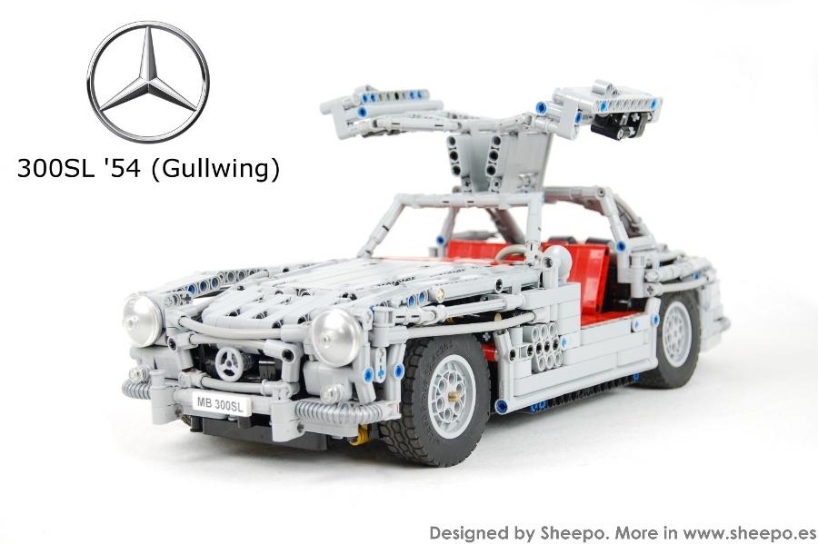 Lego 300SL Gullwing