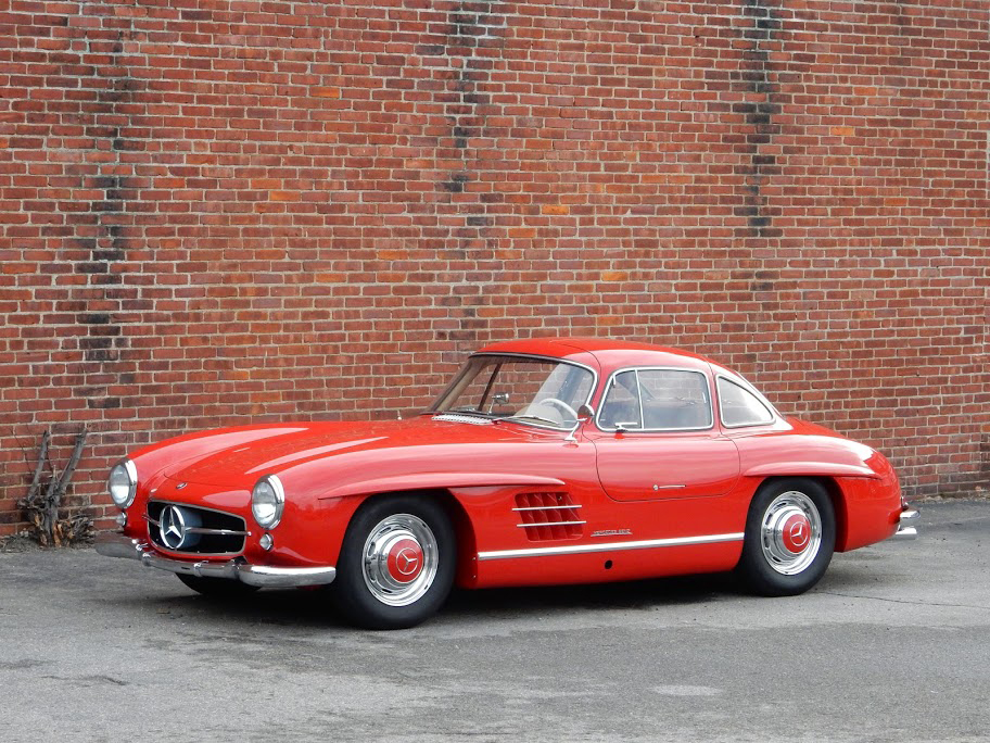 For sale 1955 mercedes benz 300sl gullwing coupe scott for Mercedes benz 300sl gullwing for sale