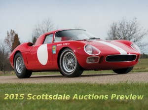 Scottsdale Auctions 2015 Preview