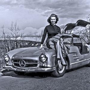 Sophia Loren's Mercedes-Benz 300SL Gullwing