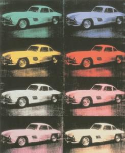 Andy Warhol Mercedes-Benz 300 SL Coupé (1954), 1986