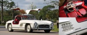 Amelia Island 2016 – Mercedes-Benz 300 SL Lots