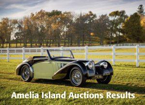 Amelia Island Auctions 2017 Recap