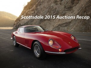 Scottsdale Auctions Weekend Recap 2015
