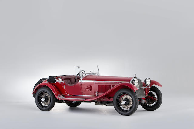 1931 ALFA ROMEO 6C 1750 5TH SERIES SUPERCHARGED GRAN SPORT SPIDER