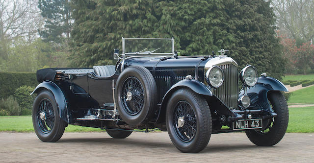 1931 BENTLEY 8-LITRE TOURER