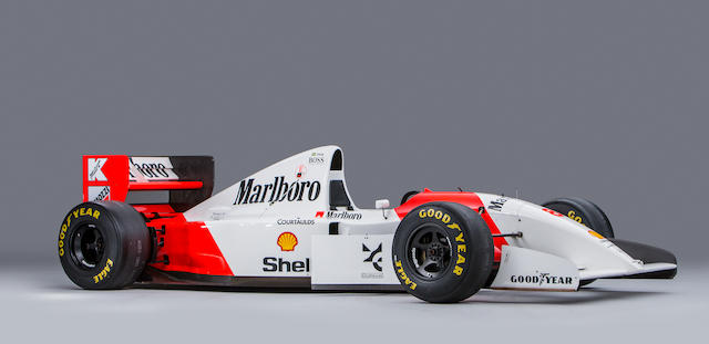 1993 MCLAREN-COSWORTH FORD MP4/8A FORMULA RACING SINGLE-SEATER