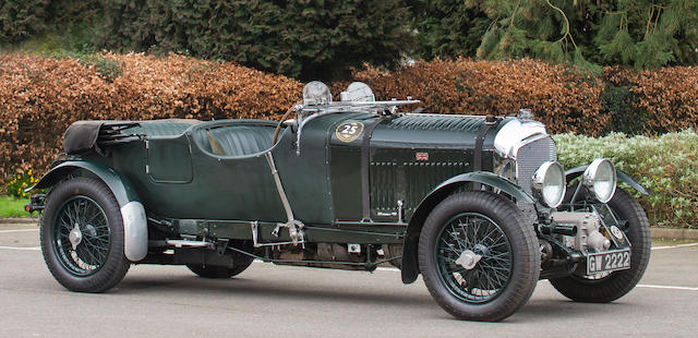 1931 BENTLEY 4½-LITRE SUPERCHARGED TOURER