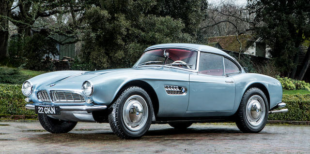 1957 BMW 507 ROADSTER WITH HARDTOP