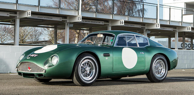 1961 ASTON MARTIN 'MP209' DB4GT ZAGATO GRAND TOURING TWO-SEAT COUPE