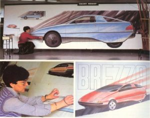 Brezza By Marilena: The First Car Ever Designed By A Woman