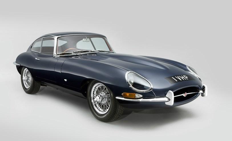 Jaguar E-type Series 1 FHC RHD