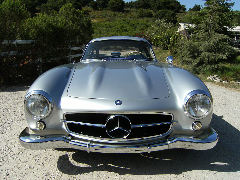 Sold 1955 mercedes benz gullwing scott grundfor company for Mercedes benz gullwing 1955