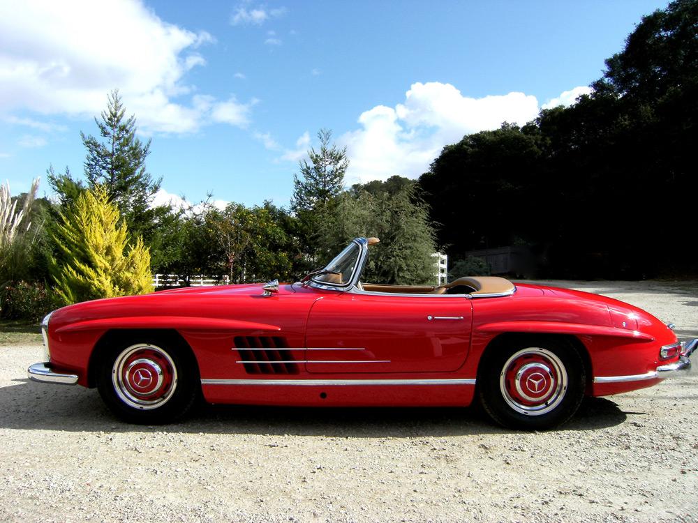 SOLD: 1960 Mercedes-Benz 300SL Roadster - Scott Grundfor Company ...