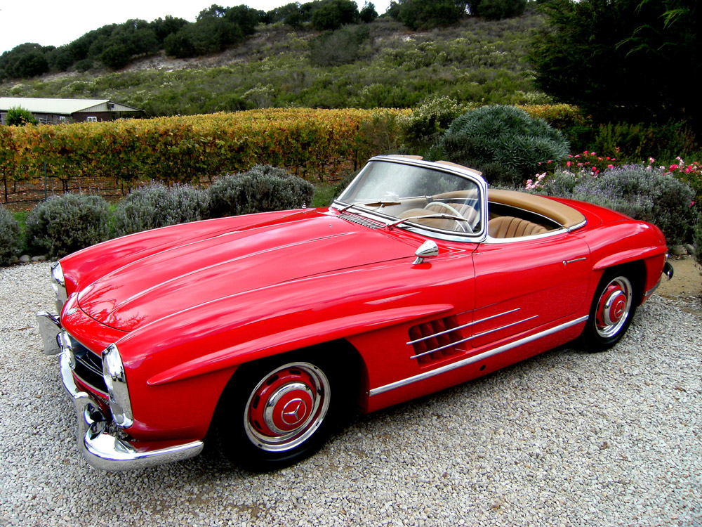 sold 1960 mercedes benz 300sl roadster scott grundfor