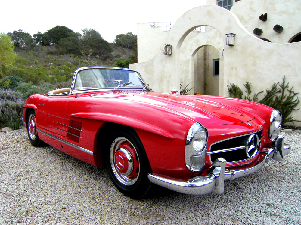 sold 1960 mercedes benz 300sl roadster scott grundfor company classic collectible mercedes. Black Bedroom Furniture Sets. Home Design Ideas