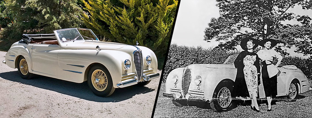 Car for Sale - 1949 Delahaye Type 135M Cabriolet by Franay