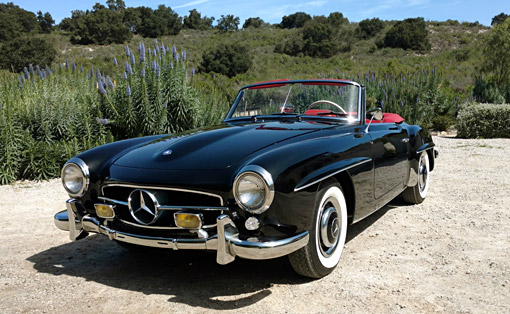 Car for Sale - 1961 Mercedes-Benz 190SL Coupe/Roadster