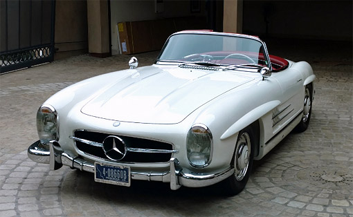 For Sale: 1963 Mercedes-Benz 300SL Alloy Block Roadster