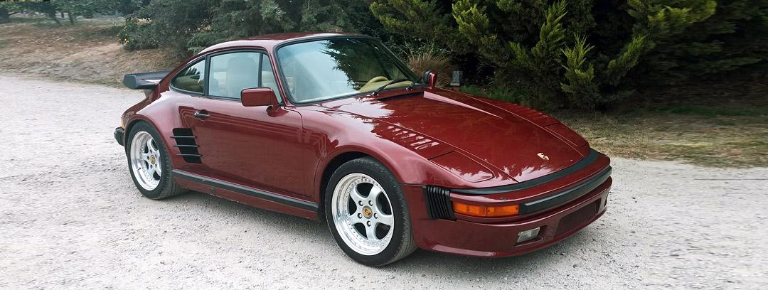 "Car for Sale - 1985 Porsche 911 Turbo 3.3 Coupe ""Sonderwunsche"" Factory Slant Nose"